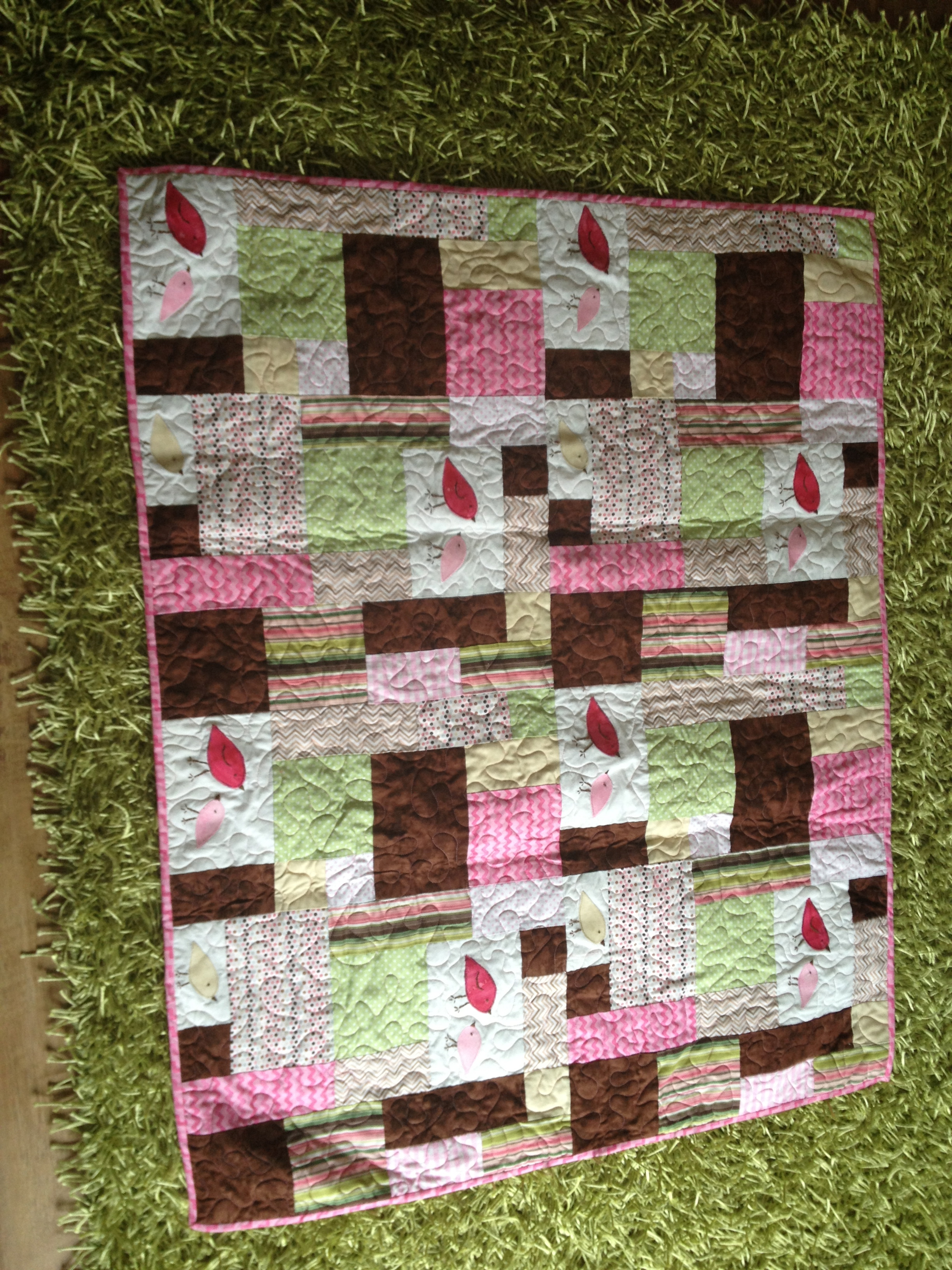 My First Quilt & Bonding with my Mother