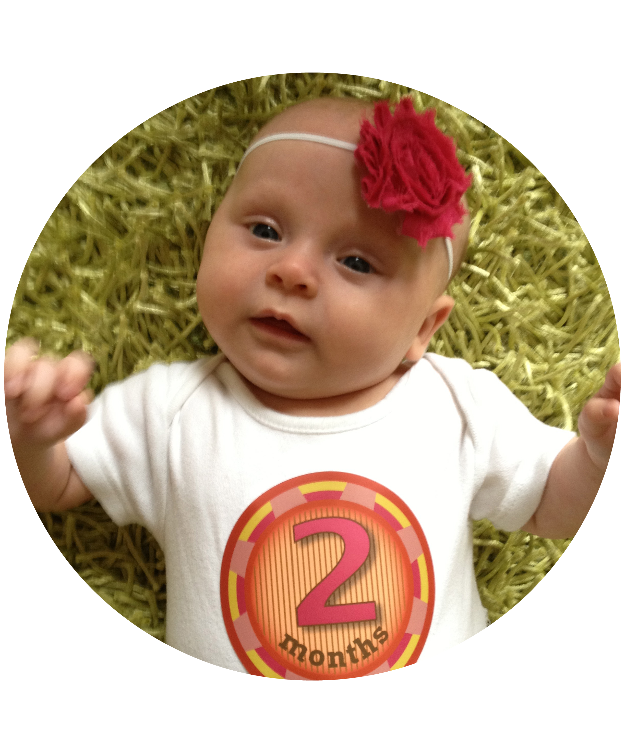 Missy Moo's Milestones: 6 Months Old