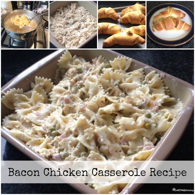 Bacon Chicken Casserole Recipe