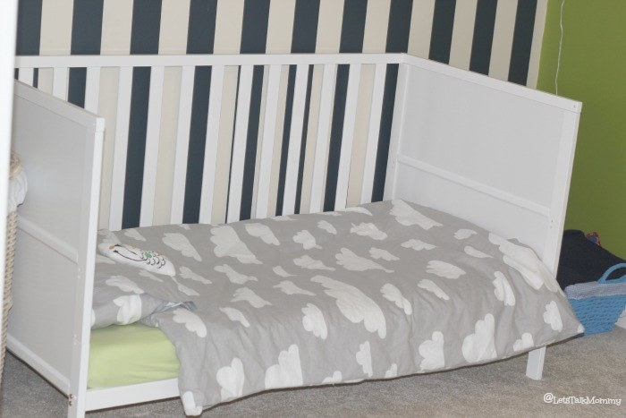 Buba's Milestones: Big Boy Bed