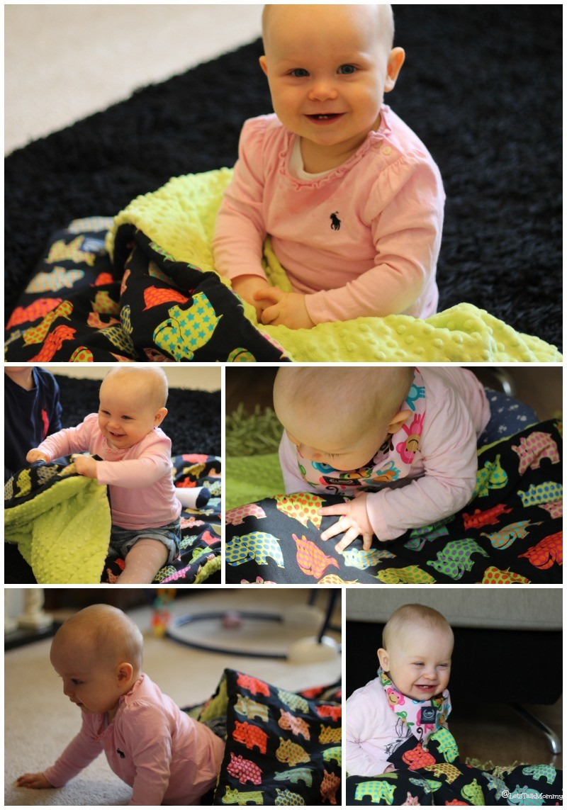 La Millou Toddler Blanket & Bandana Review