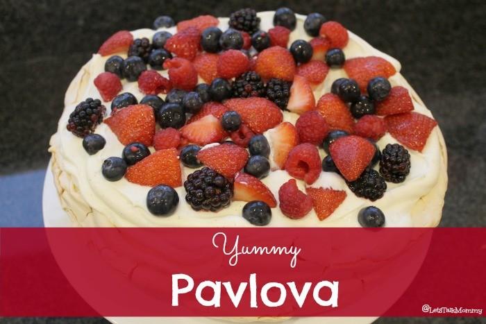 Summer Berry Pavlova Recipe - Lets Talk Mommy
