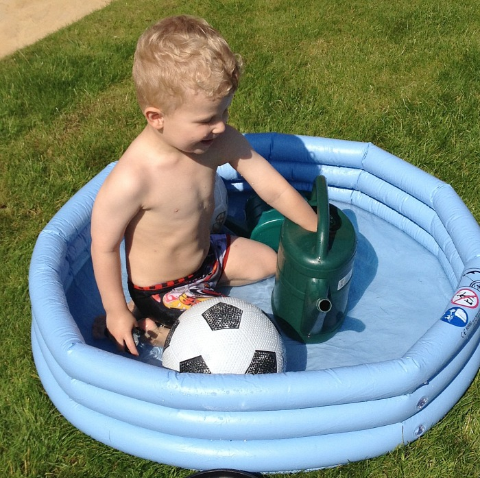 Paddling pools in this house