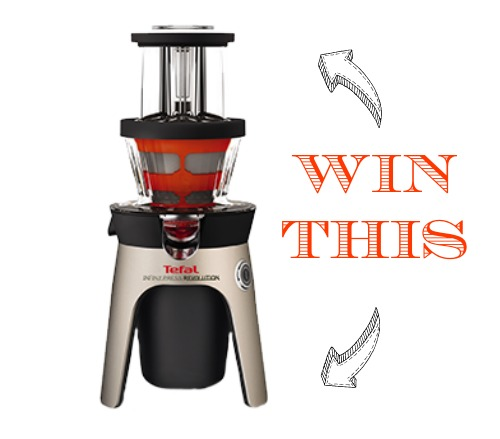 WIN Tefal's new Infiny Press Juicer