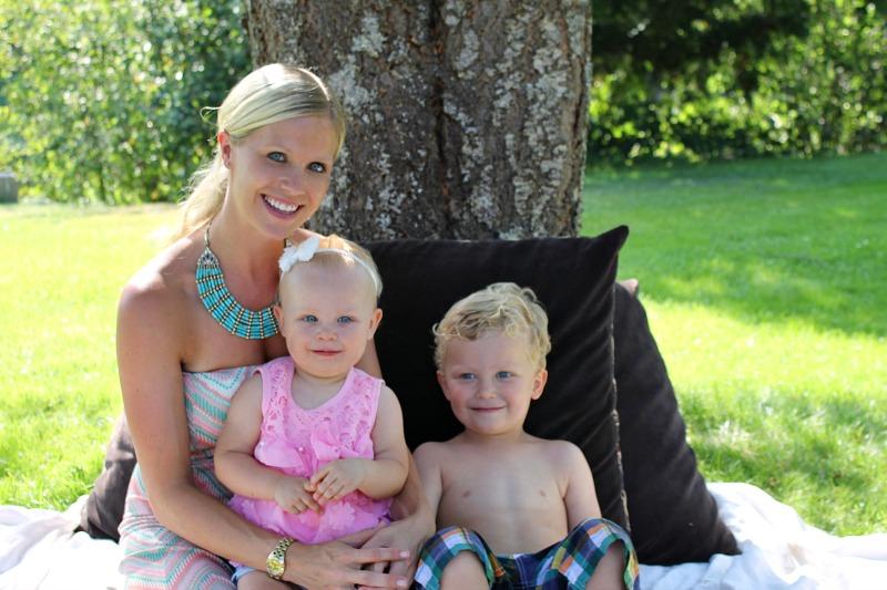 family birthday portrait