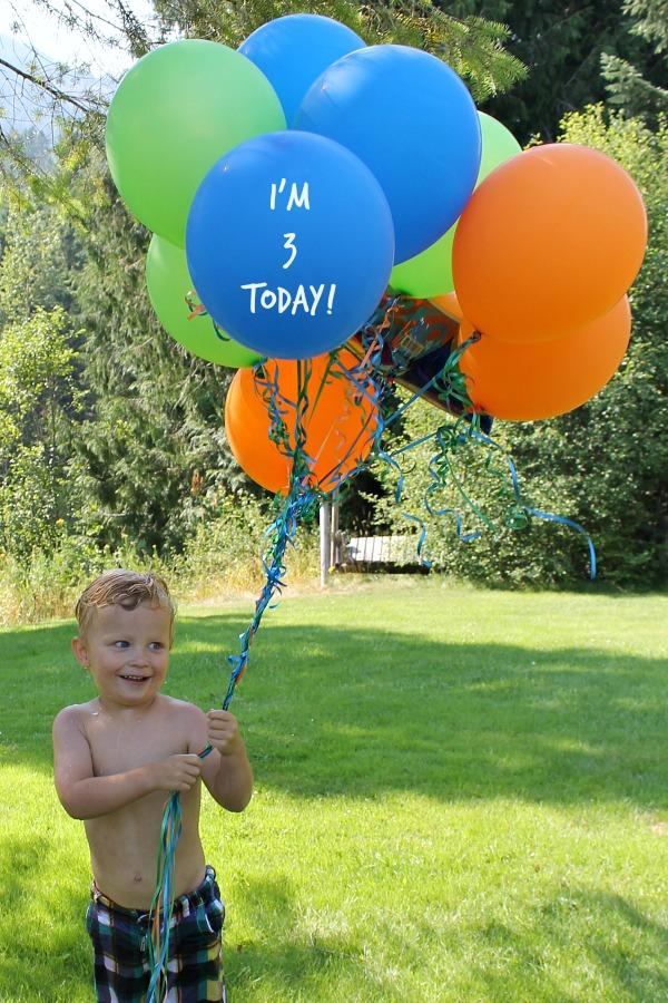 kids 3rd birthday party