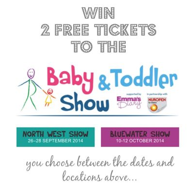 Wednesday Blogiversary Giveaway: Baby & Toddler Show Tickets