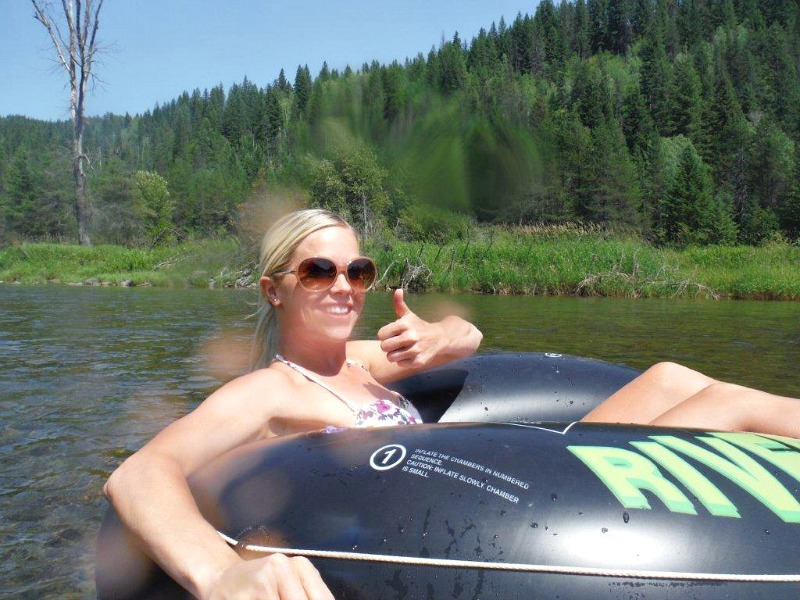 America: Floating the Moyie River