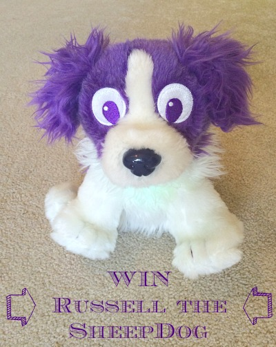 LTM Giveaway: Russell the light up Dream Sheepdog