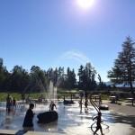 water spray parks