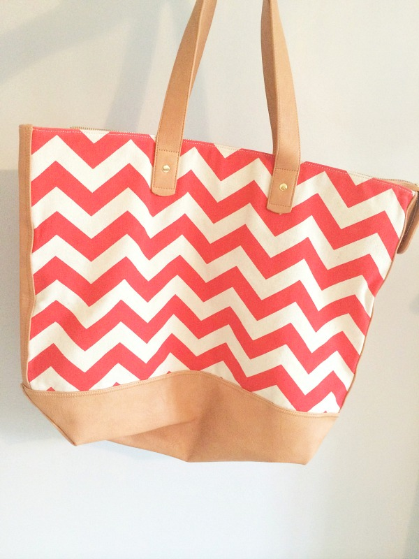 overnight tote bag