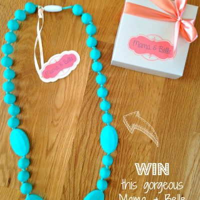 Thursday's Blogiversary Giveaway: Mama & Belle Teething Necklace