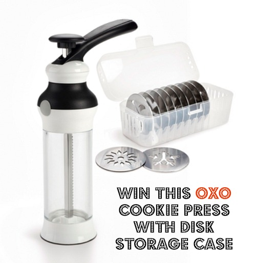 Oxo Cookie Press & Storage Disk Case