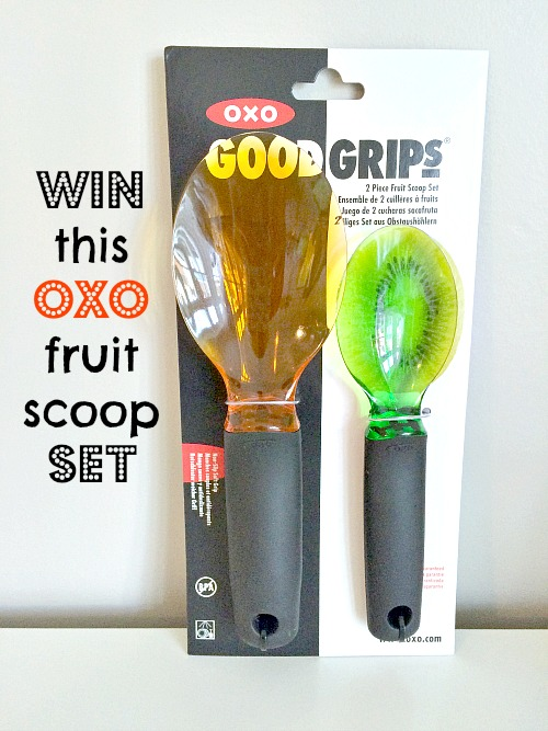 Oxo UK Good Grips Fruit Scoop Set Review & Giveaway