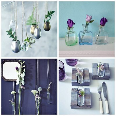 Home Styling with Glass Vases