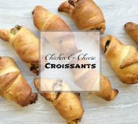 Chicken & Cheese Croissants Recipe