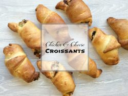 Chicken & Cheese Croissants Recipe