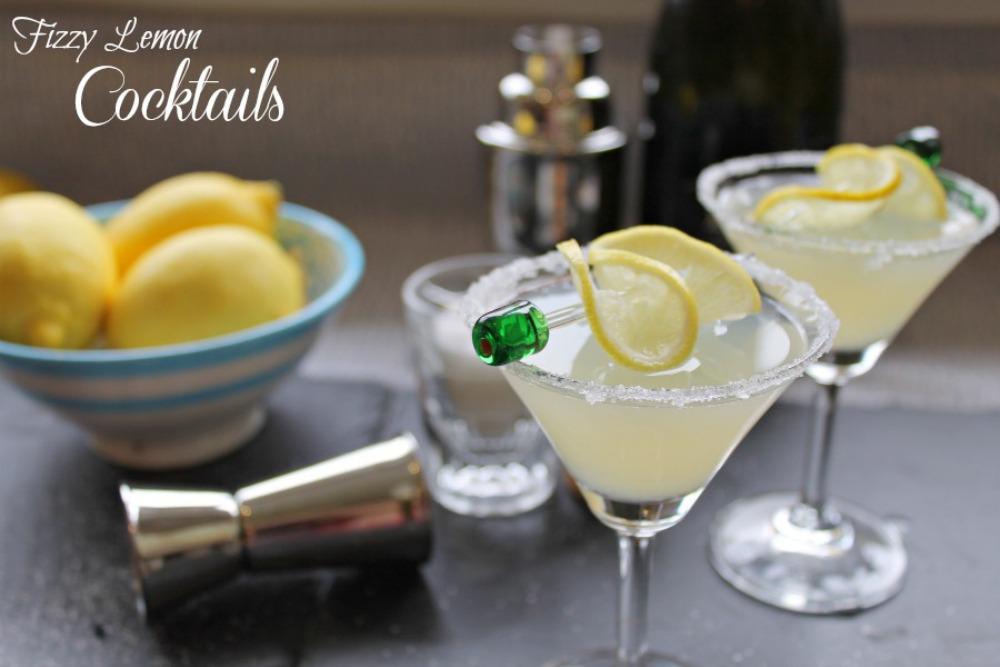 Fizzy Lemon Cocktail Recipe