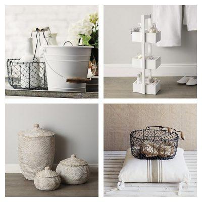 Home Decor: Mini Storage Ideas