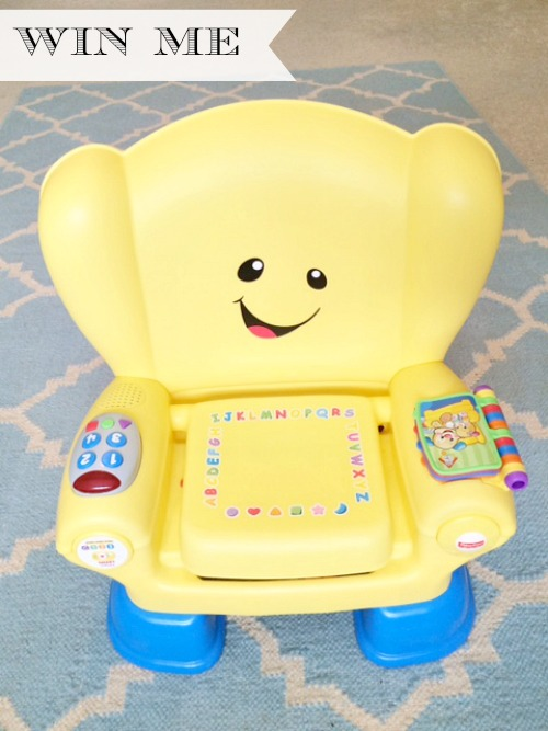 Laugh & Learn Smart Stages Chair Review & Giveaway