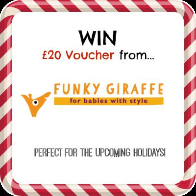 WIN £20 Voucher Funky Giraffe Baby Bibs