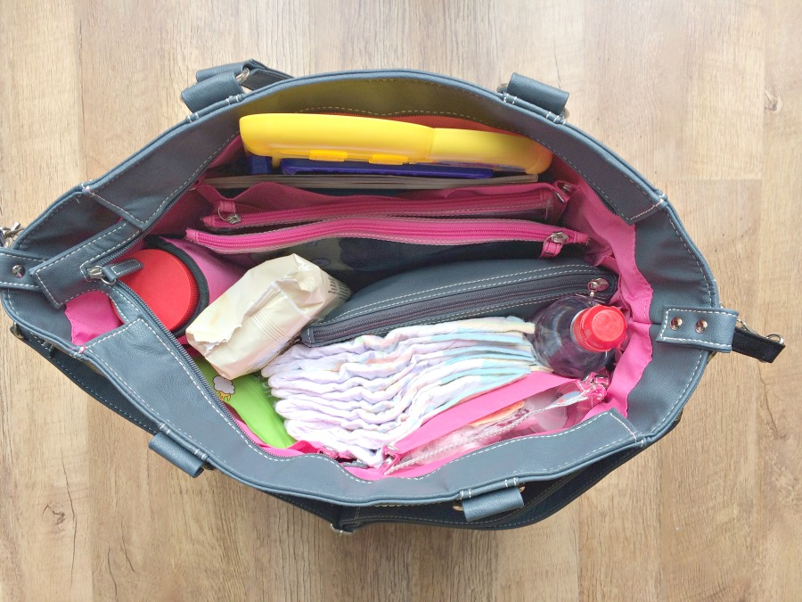 Mia Tui Amelie Tote Diaper Bag Nappy Bag Review Handbag Travel bag