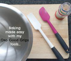 Oxo Good Grips Baking Set Giveaway Spatulas Mixing Bowl Measuring Beakers