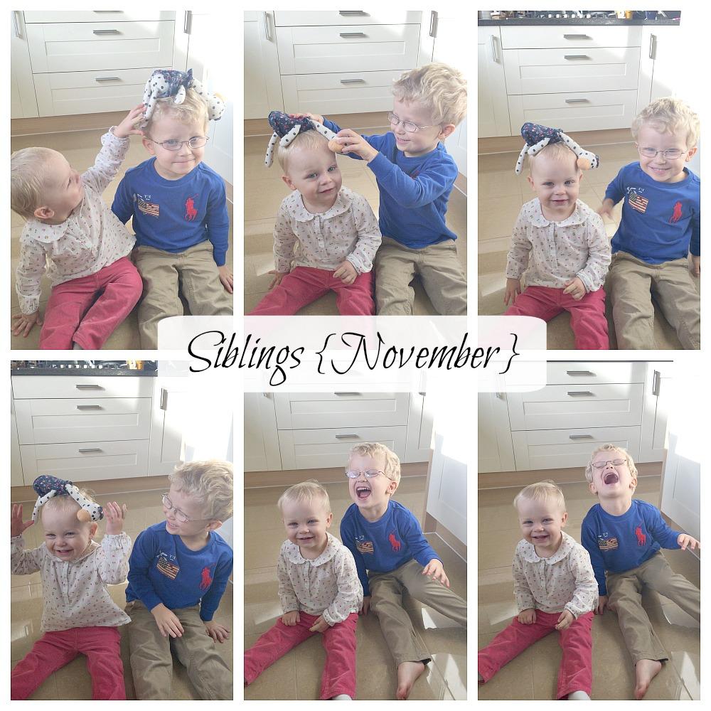 siblings november photo project