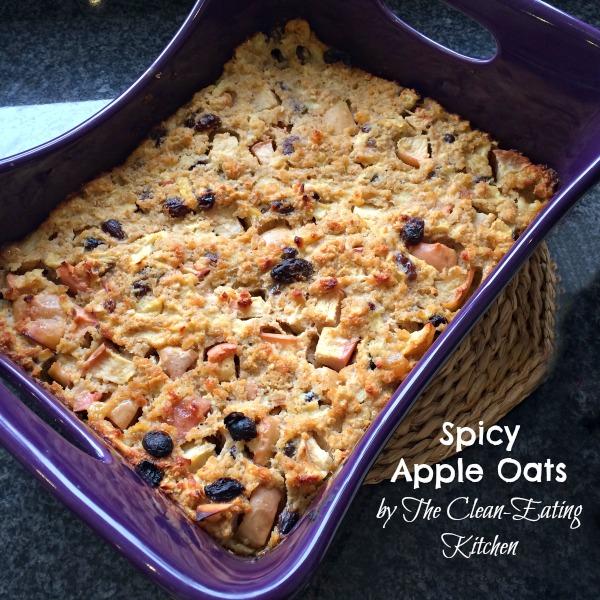 Spicy Apple Oats Recipe Cookbook Parragon