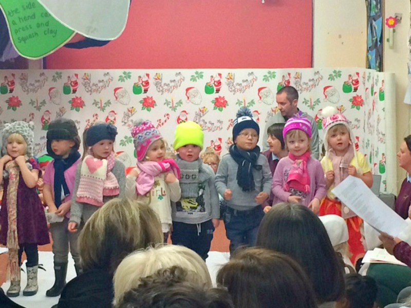 Sunday photo ~ First Christmas Play