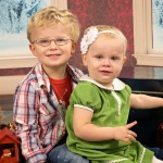 Milestones of baby and toddler Christmas Photos
