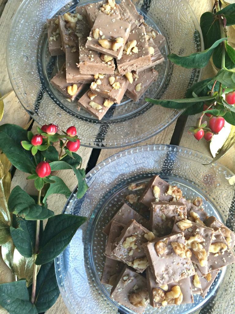 Christmas Fudge Strawberry Peppermint Fudge Recipe