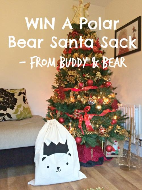 Santa Sack Polar Bear Giveaway From Buddy And Bear