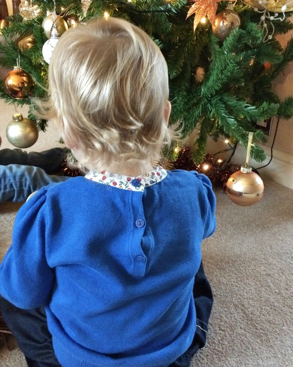 Our three christmases 2014