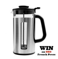 Oxo French Press Coffee Review Giveaway