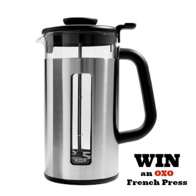 Oxo French Press Coffee Review + Giveaway