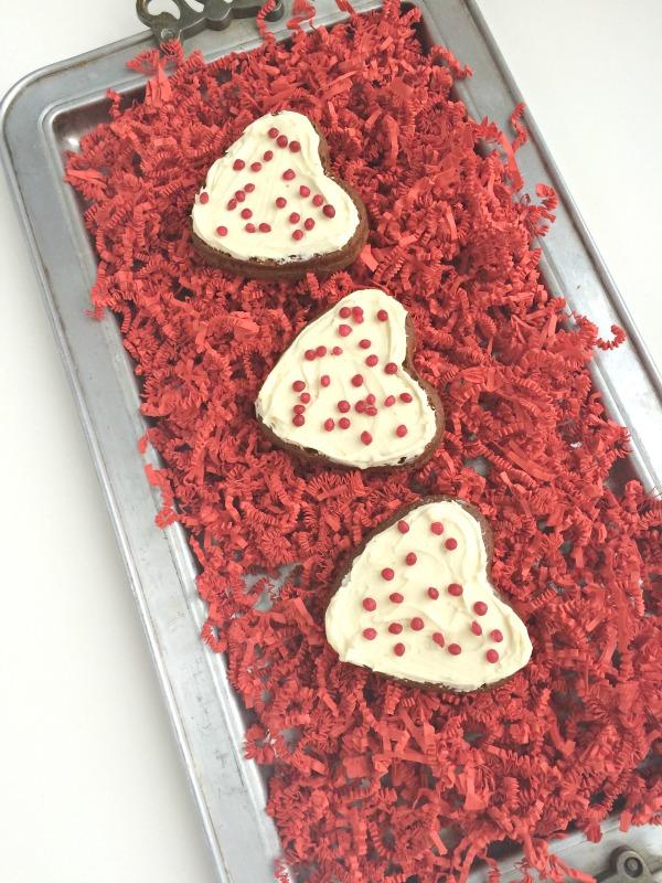 Valentine's Day Chocolate Hearts Cake Recipe