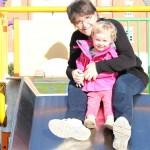 Park hopping with Grandma