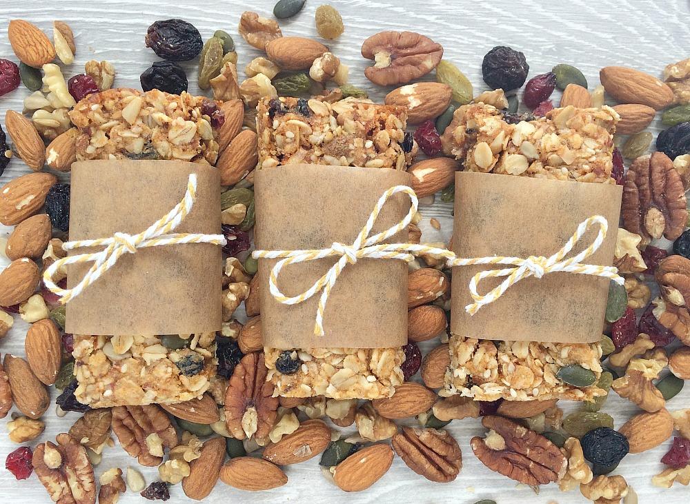 Healthy granola oat bars recipes breakfast