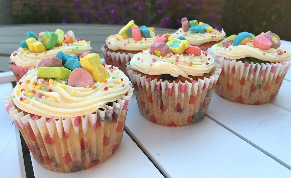 Lucky Charms Cupcakes birthday