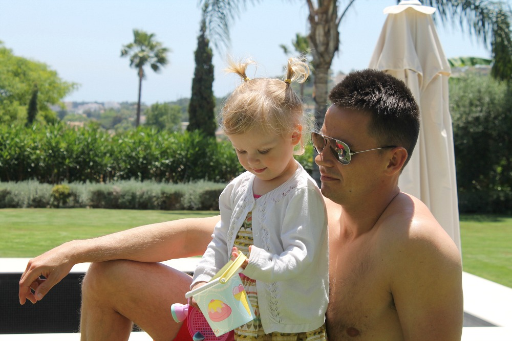 Family holiday fun in Marbella