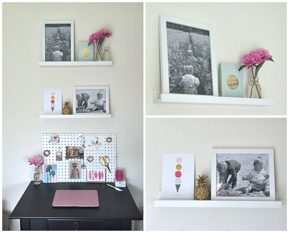 Best4Frames Giveaway and Review Home Decor Shelves and Frames