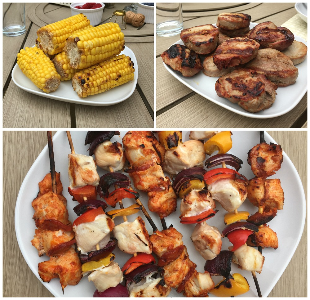Family fun and BBQ time Asda outdoor toys picnic table and Wayfair BBQ foodie