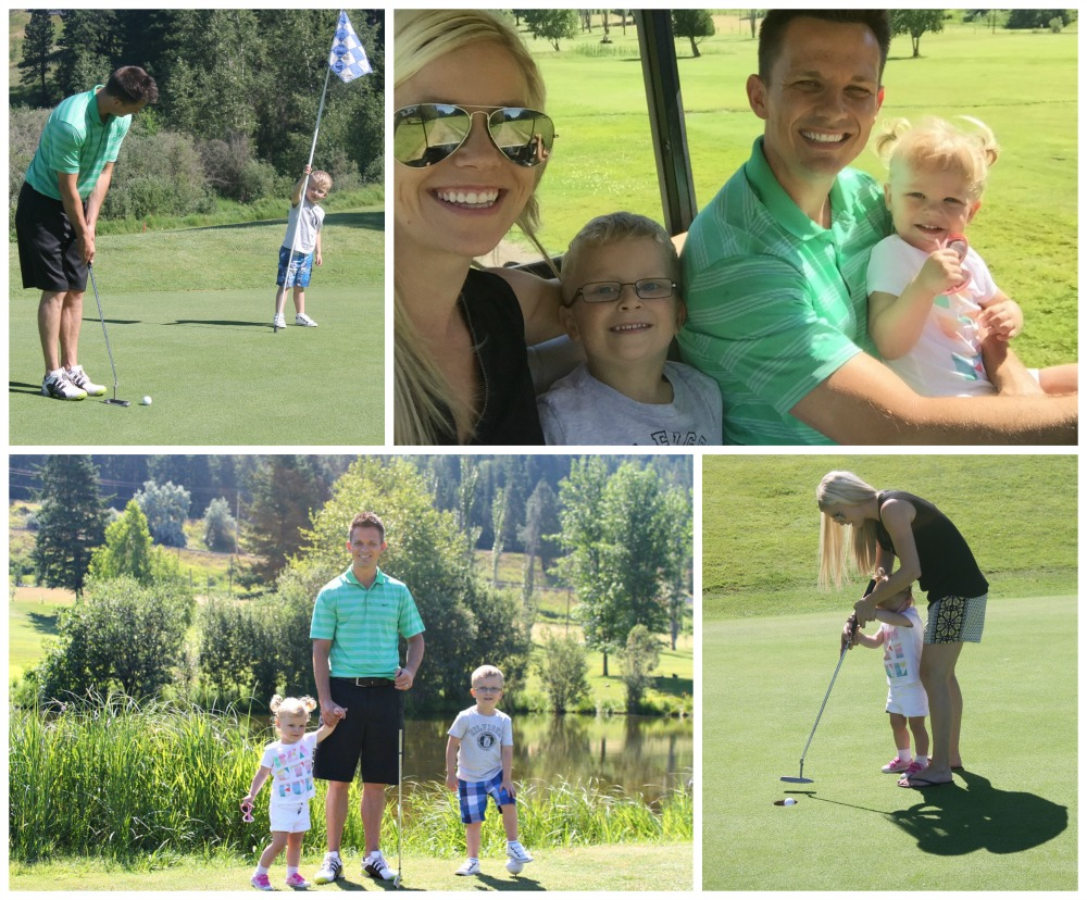 A Concert, a birthday, and a family golf trip #littleloves