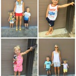 What we wore this week #littleloves