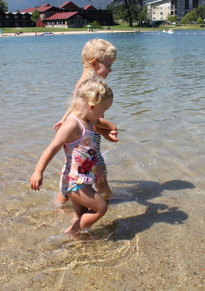 Our beach days in America family travel