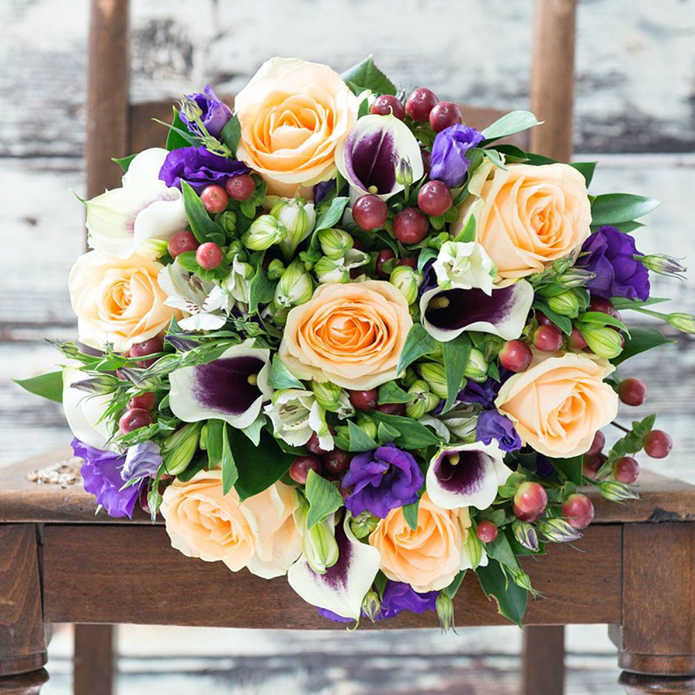 Saturday's blog birthday giveaway Appleyard London Autumn bouquets