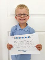 First day of school primary reception