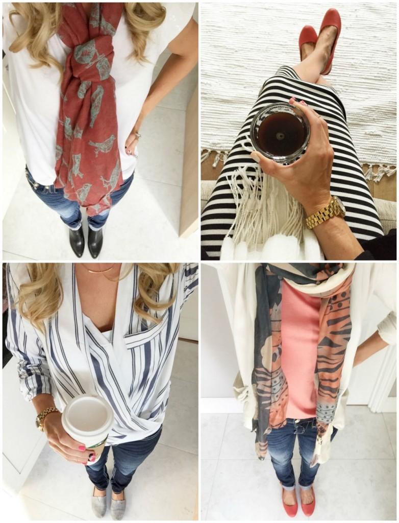 wore fashion ootd wiwt scarf ideas fall fashion #littleloves