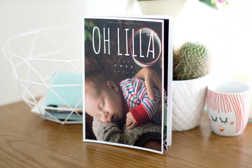 Oh Lilla Magazine Cosy edition issue two #littleloves
